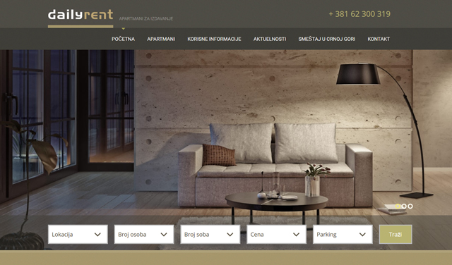 Screenshot Daily-rent.com