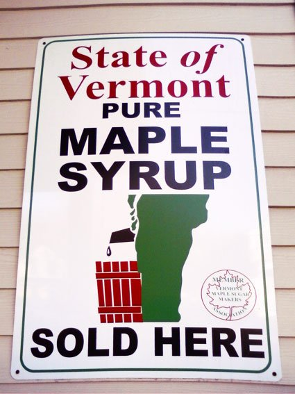 Vermont Maple Syrup Smesan logotip